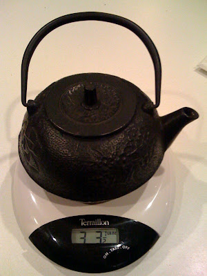 At 28 weeks he weighs as much as this teapot!