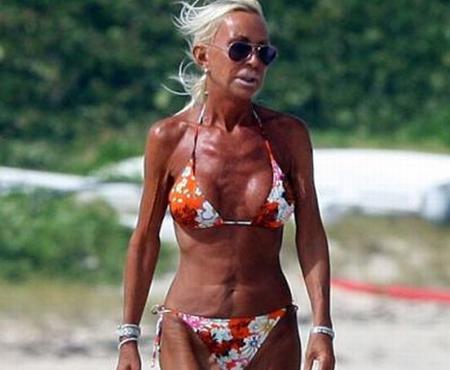 donatella versace bikini