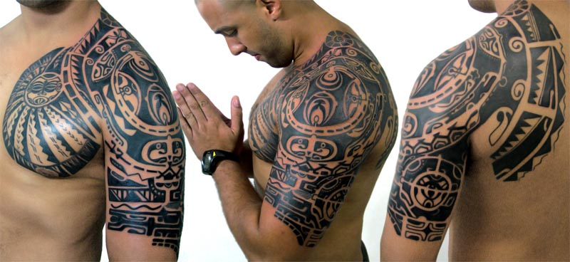 Maori Tattoos The Rock Pic #13