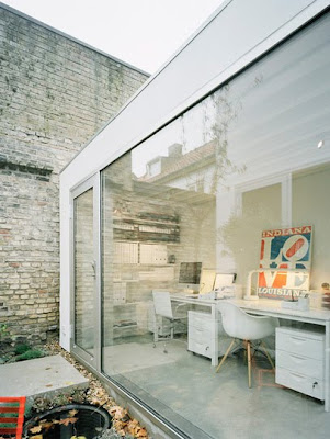 Shedworking: Elding Oscarson garden office + townhouse