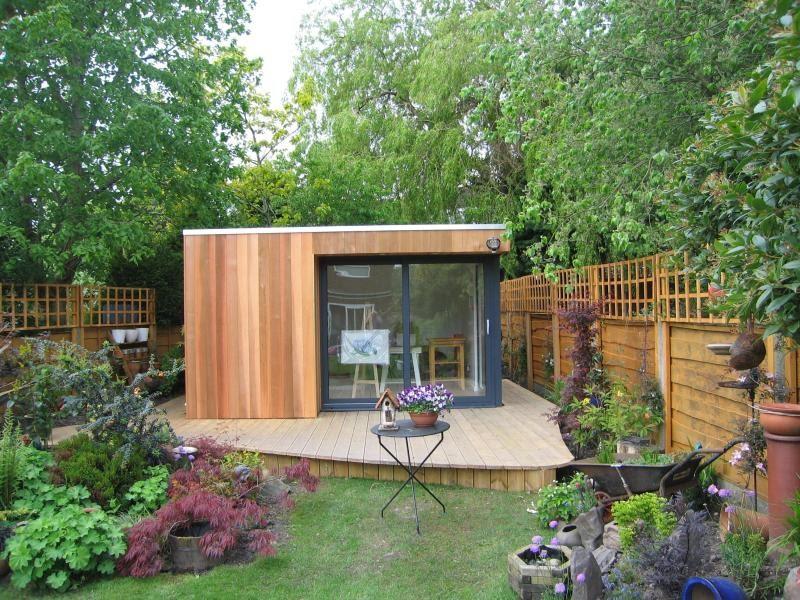 Shedworking swift garden rooms for Swift garden rooms