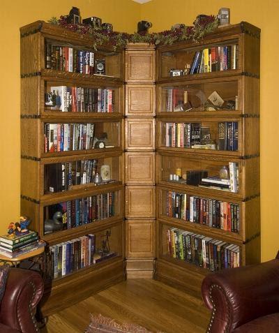 Bookshelf Globe Wernicke Corner Bookcase