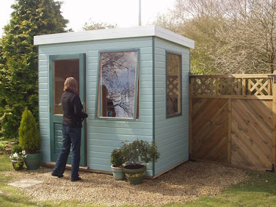 Shedworking january 2009 for Henley garden office