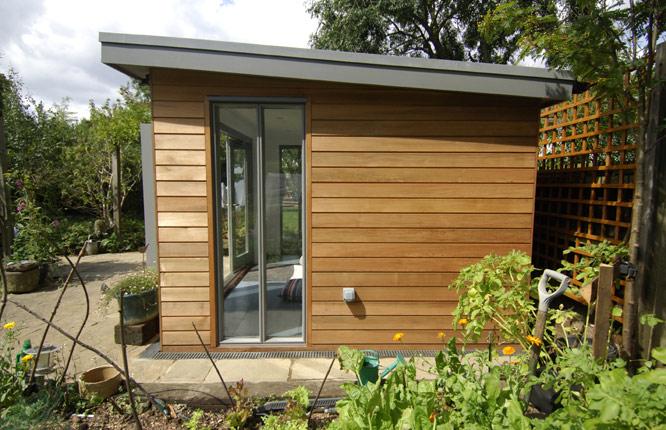 New Garden Office Builds