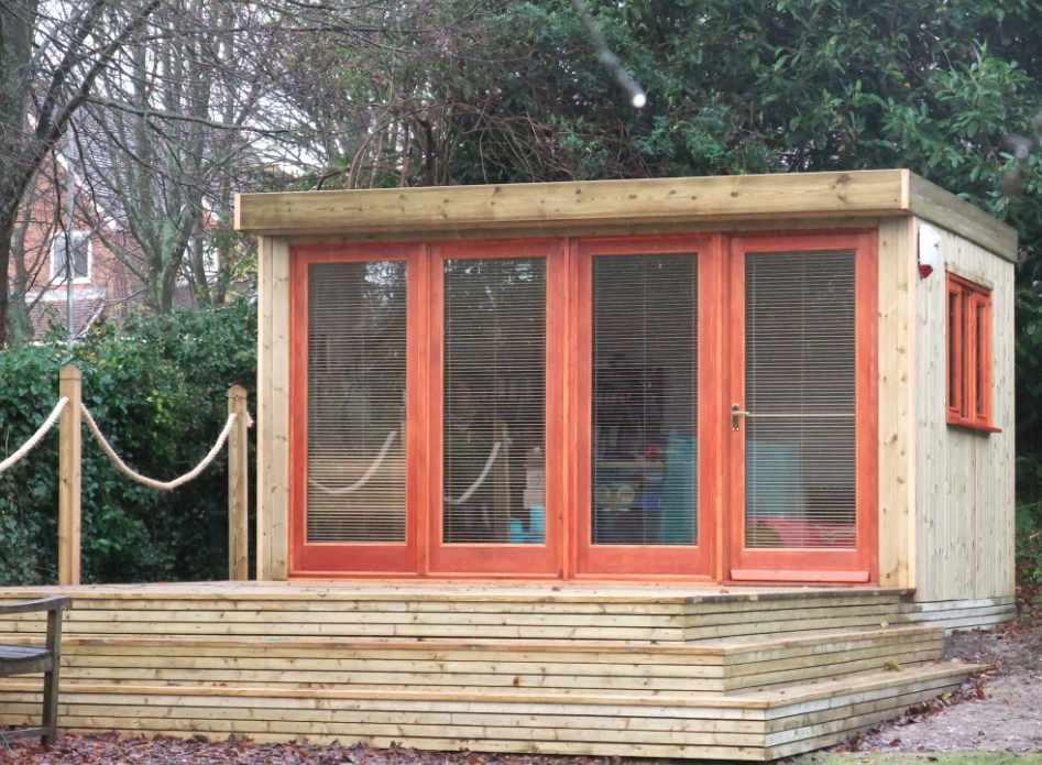 Shedworking new bespoke cotsmill garden office design for Bespoke garden office