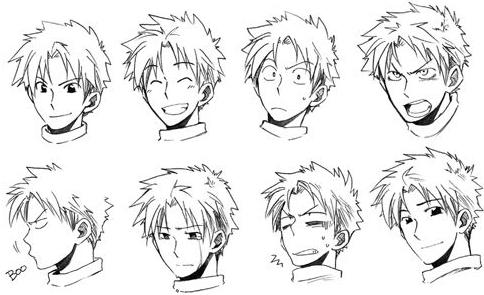 Consejos trucos y m s dibujar ojos manga y anime for Tipos de manga japones