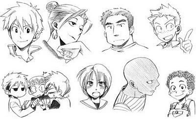 Tipos de peinados anime hombres