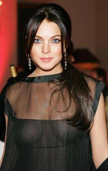 Lindsay lohan breast sin censura