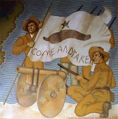 Bitwa o nieczynną armatę początkiem Rewolucji Teksańskiej
