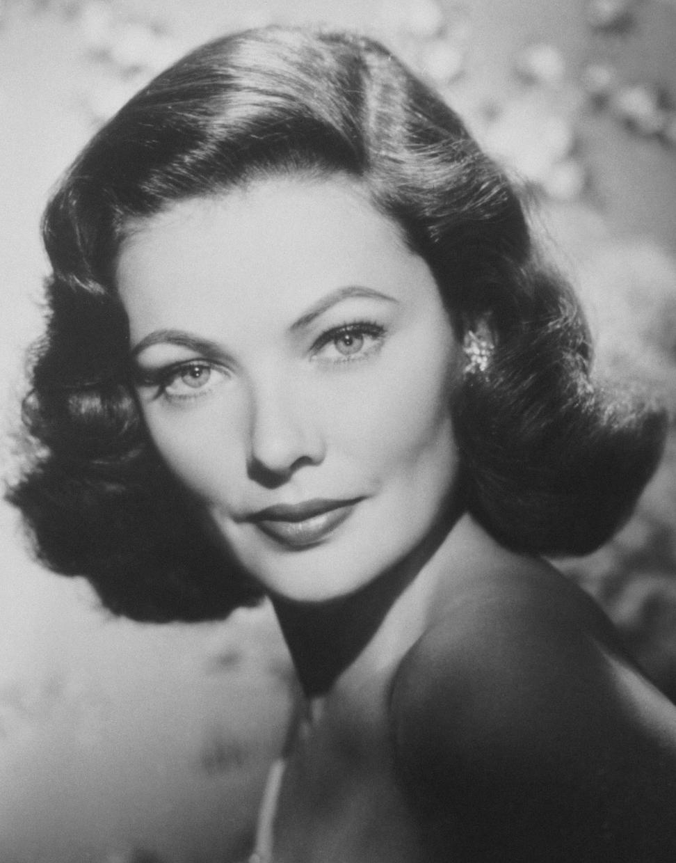Gene Tierney - Gallery Photo Colection