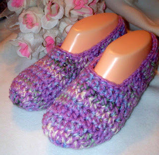 Crochet Slippers Pattern – Tip Junkie Homemade