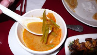 Image of vegetable curry at Pasar restaurant in Hong Kong.