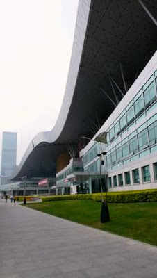 Image of the Shenzhen Civic Center, Shenzhen, Guangdong, China.