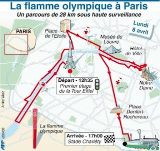 Mondial athl blog sur l 39 athl tisme parcours horaires relayeurs de la flamme olympique paris - Mondial relay tours ...