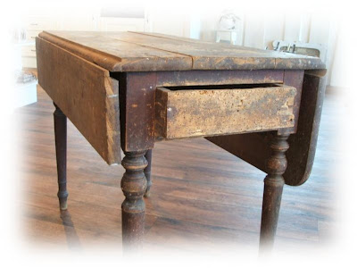 Gamle kjøkkenbord