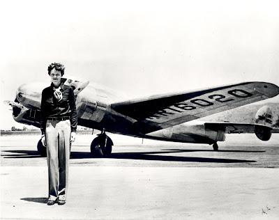 Amelia Earhart on Amelia Earhart