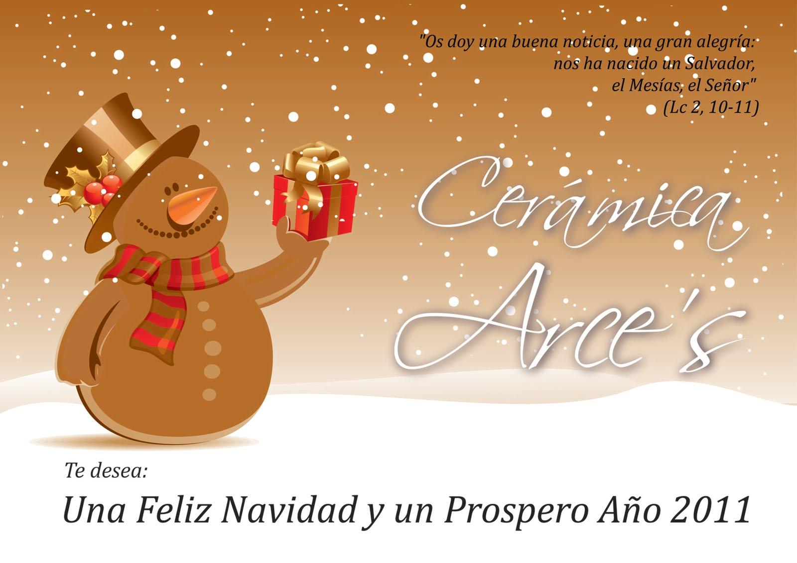 Feliz navidad ceramica arce 39 s for Arce ceramicas