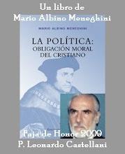 """FAJA DE HONOR """"P. LEONARDO CASTELLANI"""""""