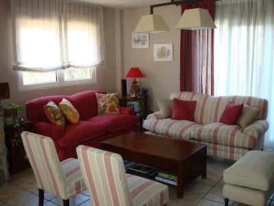 Remate salon decorar tu casa es for Visillos para salon
