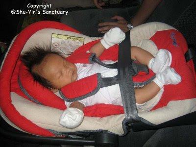 Shu Yin S Sanctuary Review Anakku Infant Carrier Car Seat