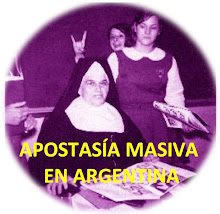 APOSTASÍA MASIVA EN ARGENTINA