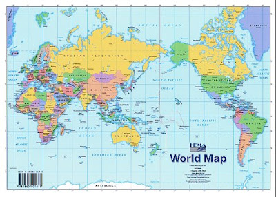 world map political country and capitals free download pdf