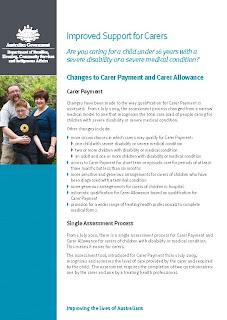 how to become a carer centrelink
