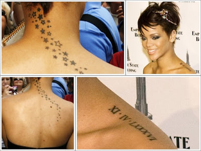 ankle rihanna new tattoos. RIHANNA