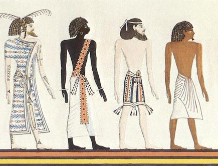 Ancient Egyptian Drawings of People http://istayopen.blogspot.com/2010/10/egyptianracesjpg-jpeg-image-435x331.html