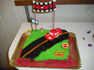 PASTELES CASEROS....: Torta de Cars