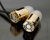 Munitio, auriculares de calidad con forma de bala