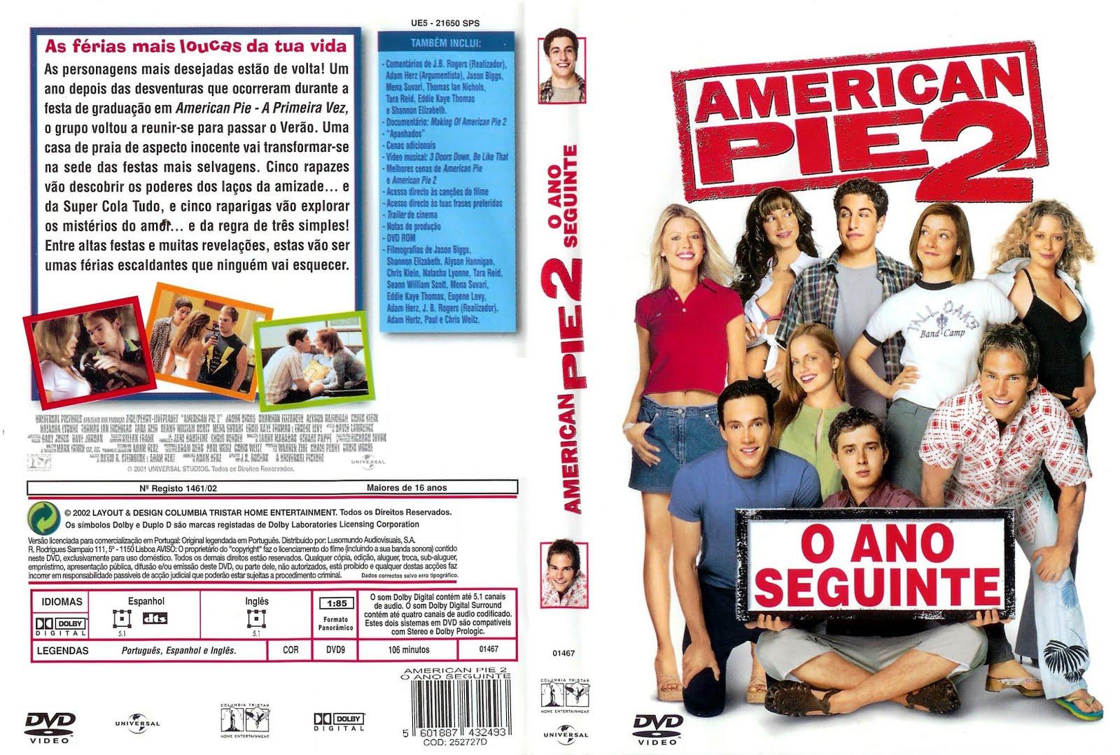 American Pie 2 A Segunda Vez E Ainda Melhor American Pie 3 O Casamento