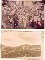 Carnaval das antigas e a Igreja de São Pedro