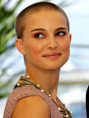 natalie portman makeup looks. why was natalie portman bald