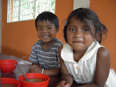 Yuan y Marjorie. Inzá, marzo 2008