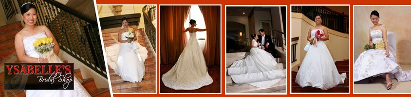 Ysabelle's Bridals: Wedding Gowns Designer in Bacolod City ; Bacolod Entourage Gowns