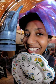 Mad Hatter Racheblue - Image Copyright: Chris Gray / Green Guardian - Wandsworth | Putney