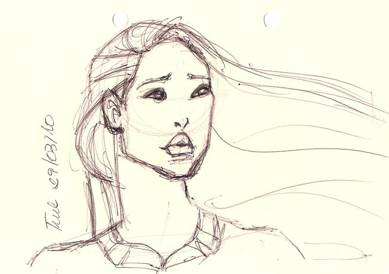 Desenhando Pocahontas Drawing THE ART OF