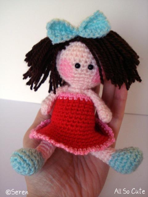 AllSoCute Amigurumis: Cute Amigurumi Baby Girl / Sevimli ...