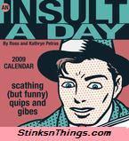 Insult-a-Day 2009 Calendar