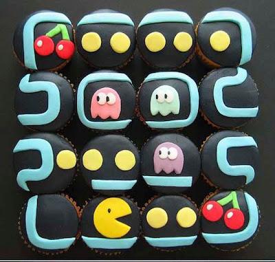 cupcakes cartoon. cupcakes cartoon background.