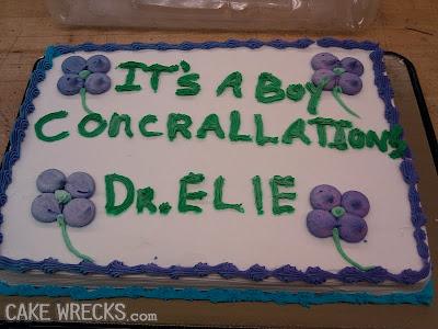 Cake Decorating Errors