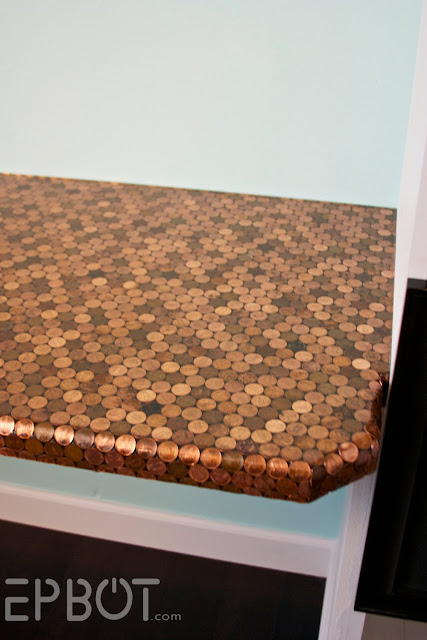 The Table of Pennies!