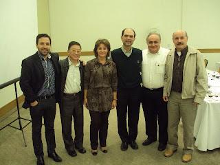 Gilson, Miguel, Marli, Bruno, Silney, Valter