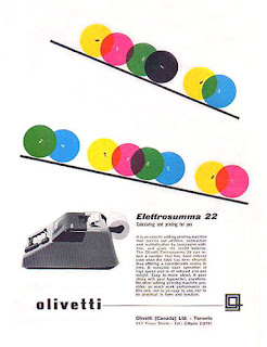 Designed by Giovanni Pintori for Olivetti
