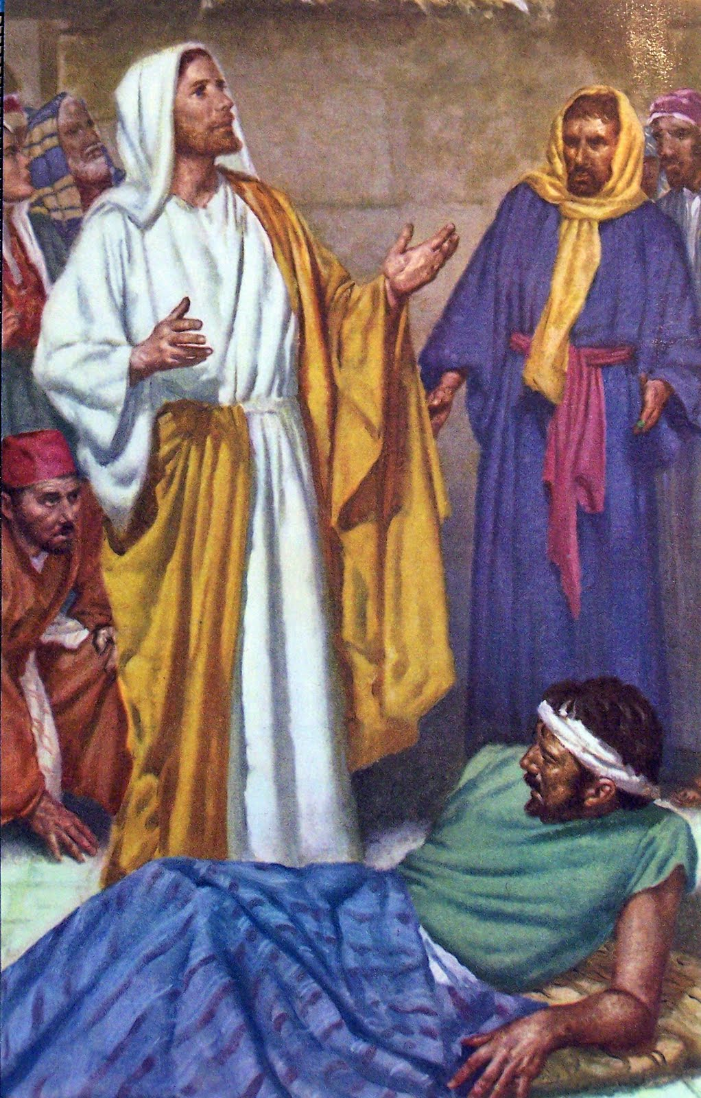 62 Jesus Healing The Paralytic