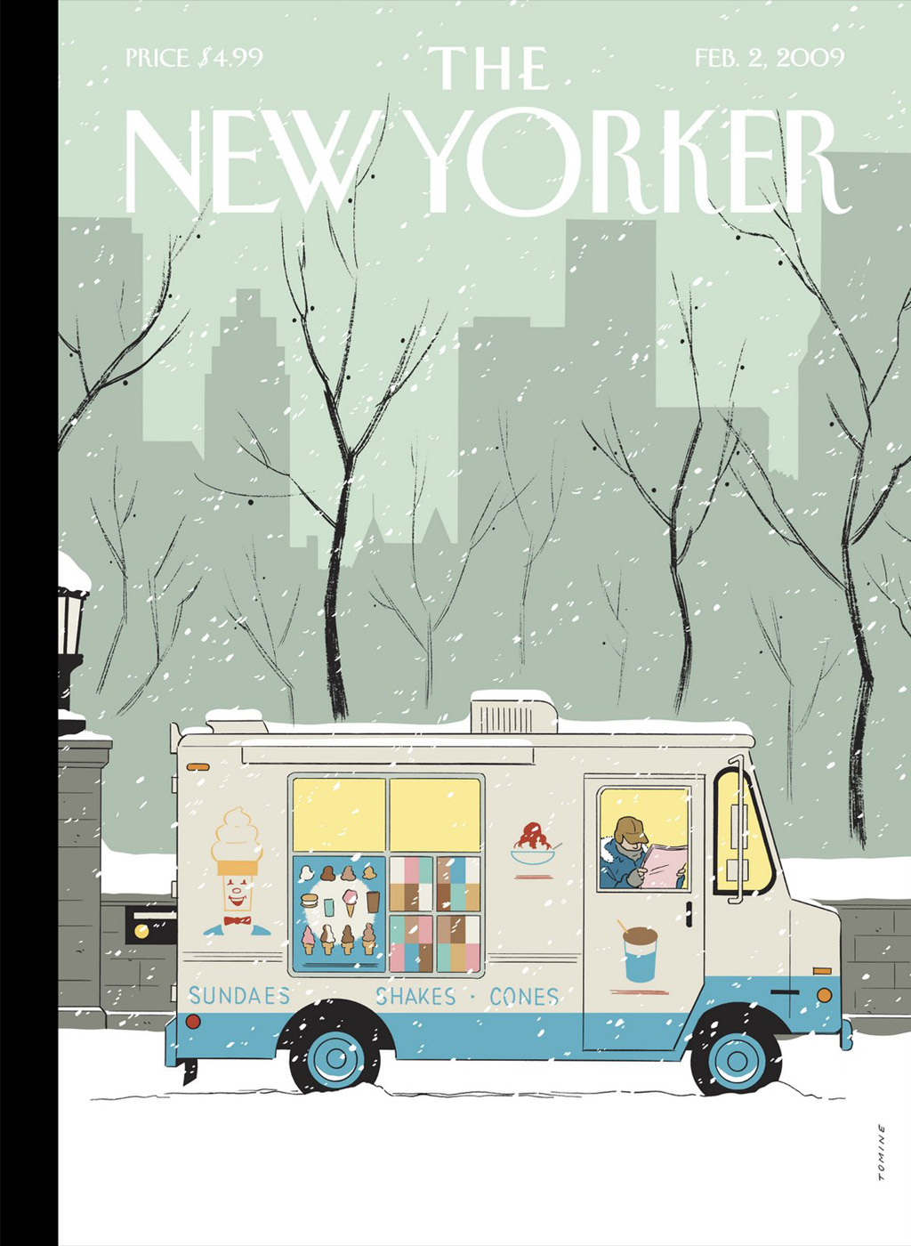 The New Yorker - September 23, 1974 - Nice Pic on Front