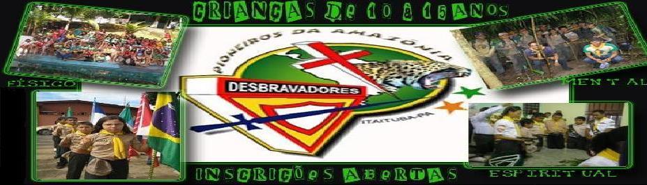 PIONEIROS DA AMAZÔNIA