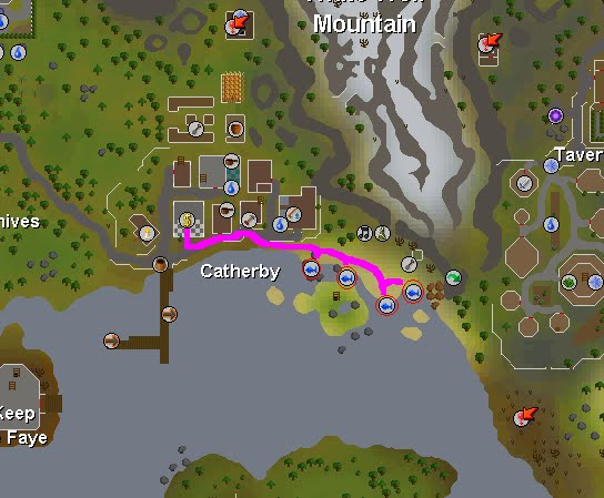 FREE RS Guides - Runescape Guides, Tricks, and Tips OSRS old school rs 2007: Fishing