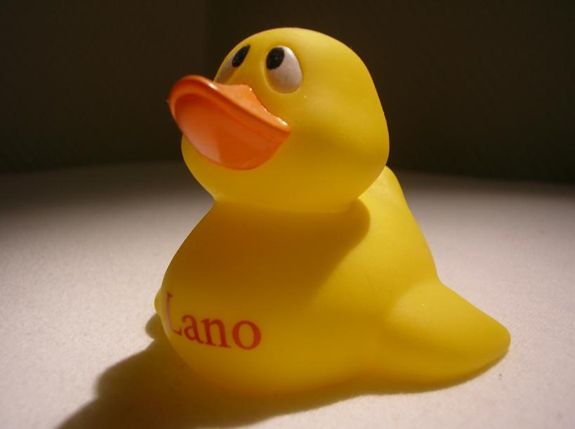 Tine\'s Rubber Duck Collection: lano duck